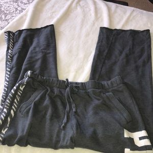 VS PINK sweatpants size Large